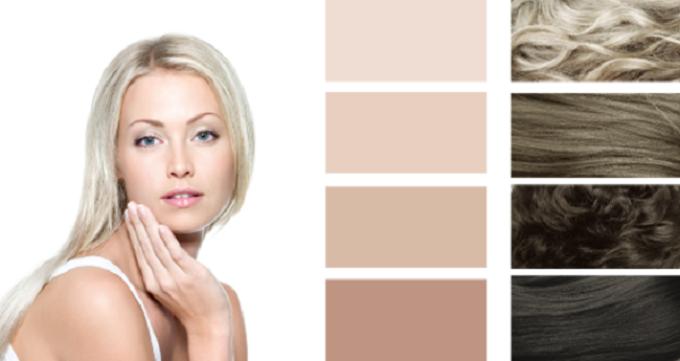 Палитра красок для волос для летнего типа внешности